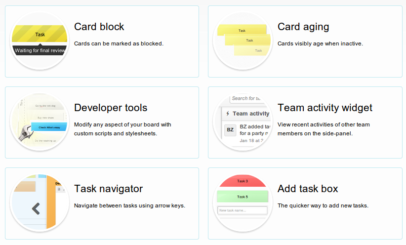 New Kanban board power-ups
