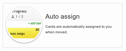 Auto Assign Power-Up in Kanban Tool