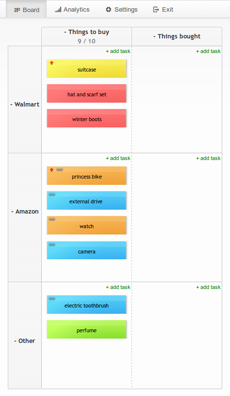 Get ready for Black Friday & Cyber Monday shopping with Kanban board by Kanban Tool