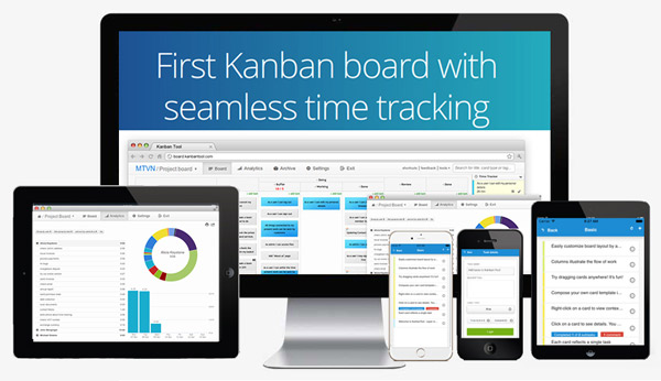 Kanban Tool iPhone App Android App