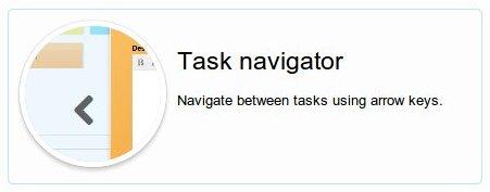 task navigator for kanban cards