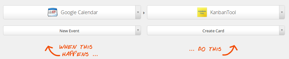 Create a new Zap for Kanban Tool