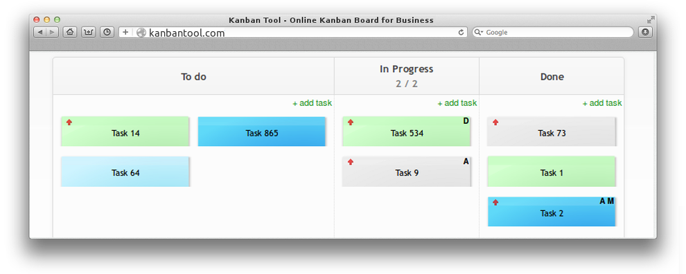 Kanban template basic