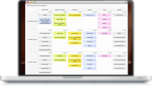 Kanban Tool Onsite for Project Management
