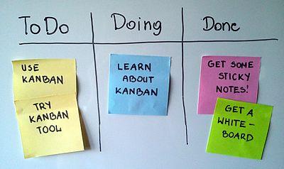 Simple Personal Kanban board