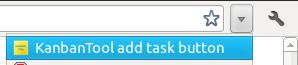 Kanban Tool extension Add task button