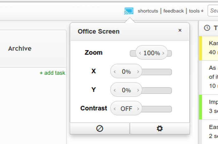 Adjust Kanban Cast Options