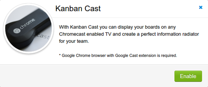 Enable Kanban Cast Power Up