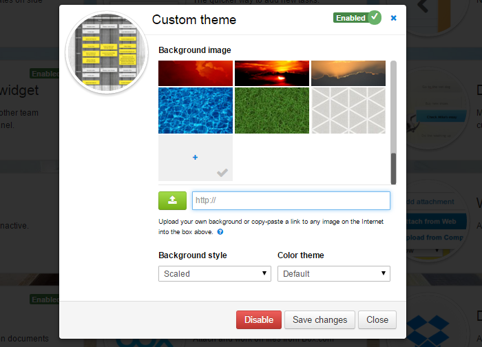 Kanban Tool Custom Theme Power-up