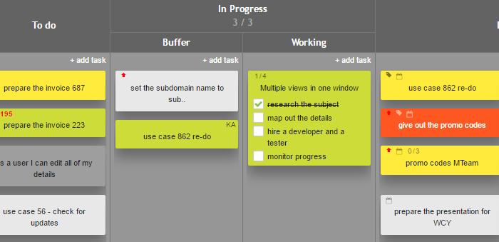 Interactive Checklist View