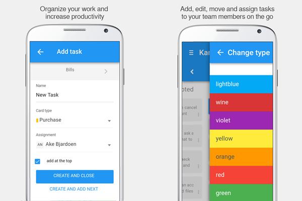Kanban Tool Mobile App
