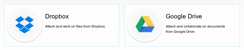 Dropbox and Google Drive powerups