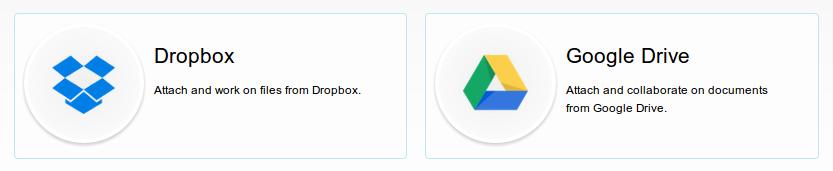 Dropbox and Google Drive powerups