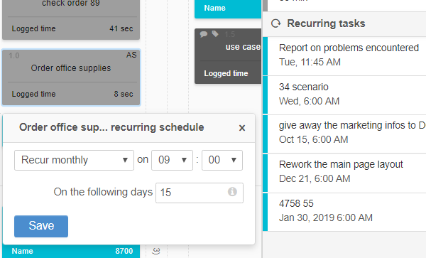 How to make the best out of your online Kanban board - recurring tasks