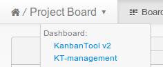 Kanban Board Switcher