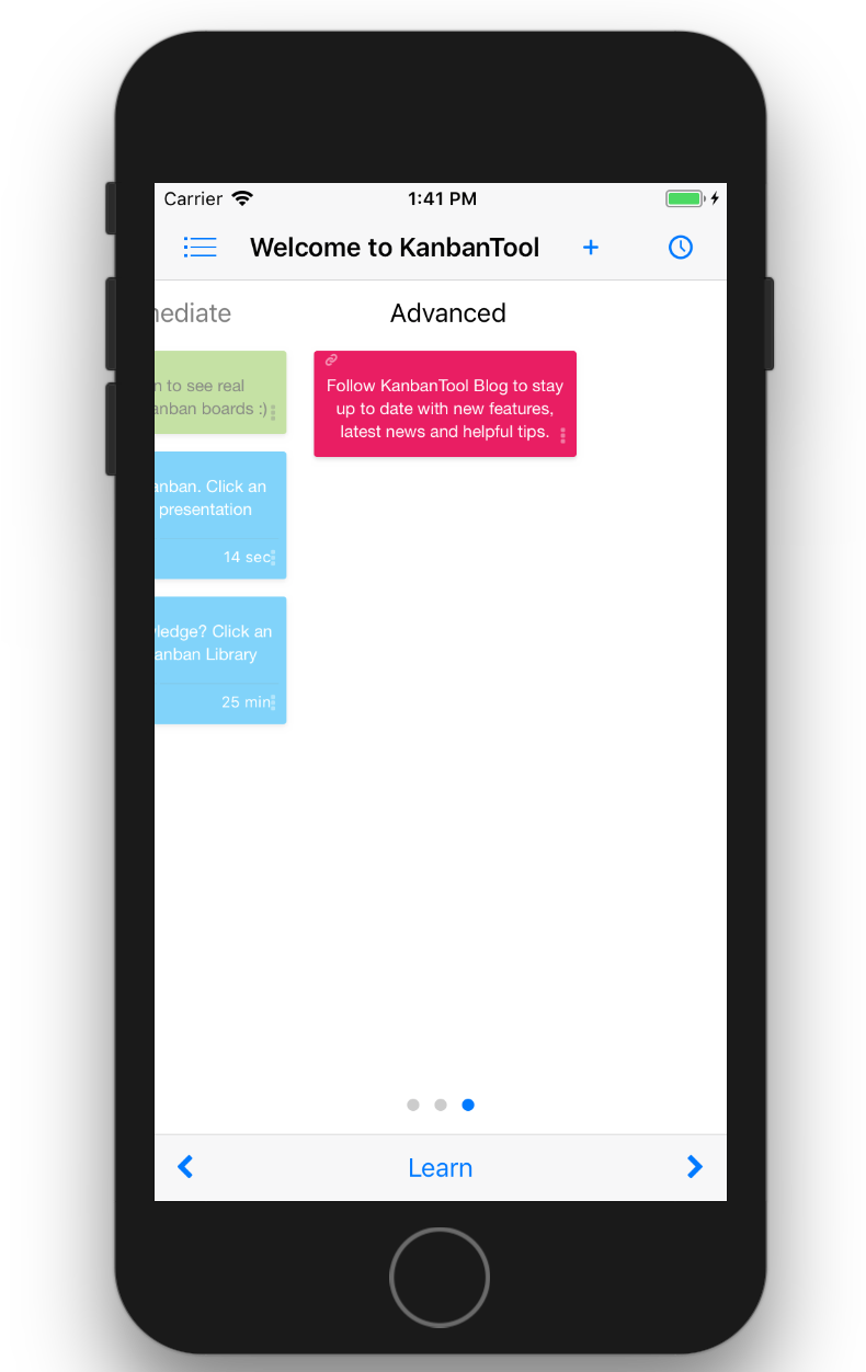 New Kanban Tool Mobile App for iOS is Out