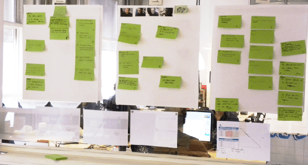 Why going Agile equals visualization of workflow