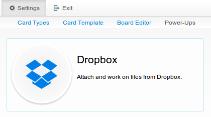 Enable Dropbox integration