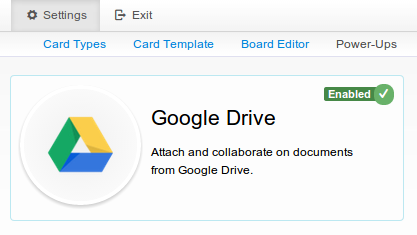 Enable Google Drive integration