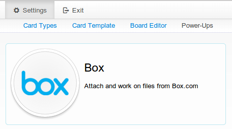 Enable Box integration