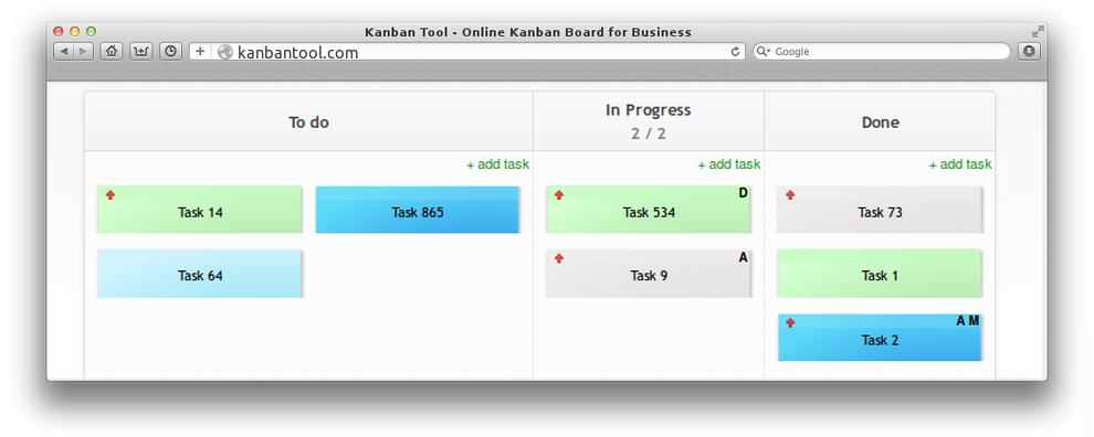 Kanban Template Kanban Tool - Kanban card template