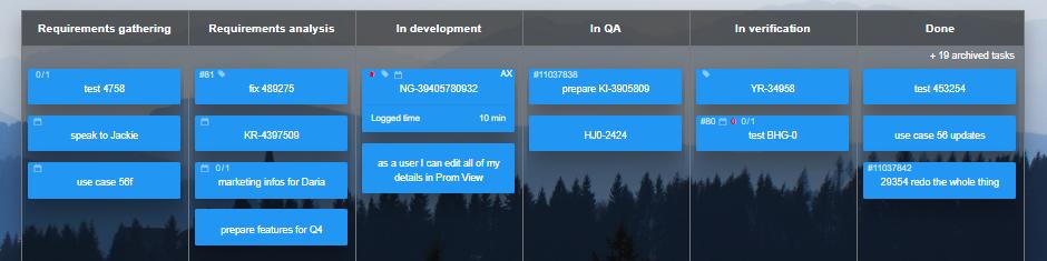 Product Development Kanban