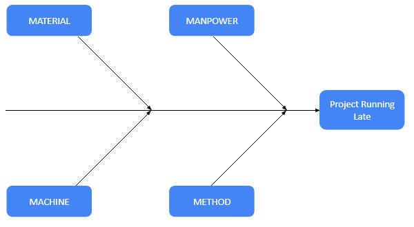 Fishbone diagram - the categories