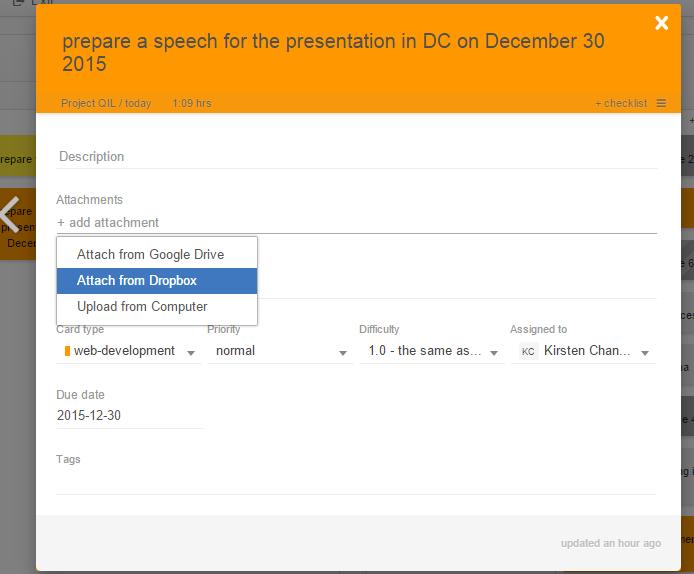 Add File Attachment from Google Drive
