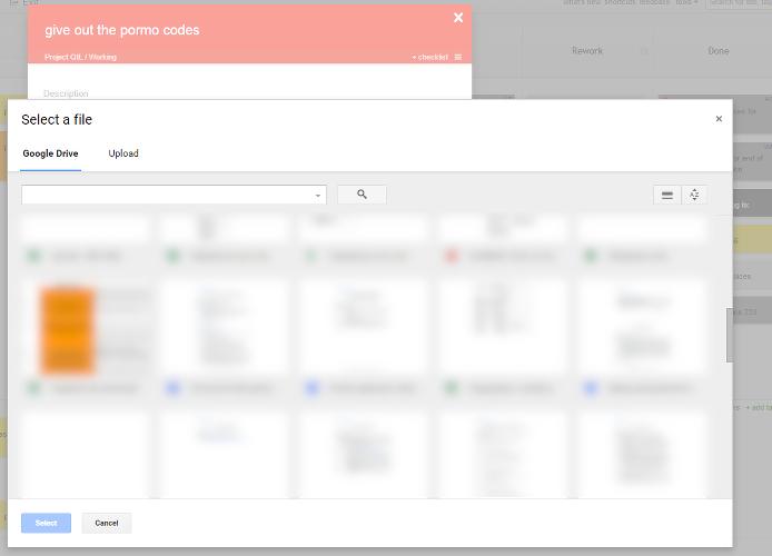 Kanban Tool - Google Drive